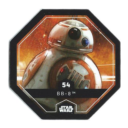 Carte Leclerc Star Wars N°53 Finn 2015