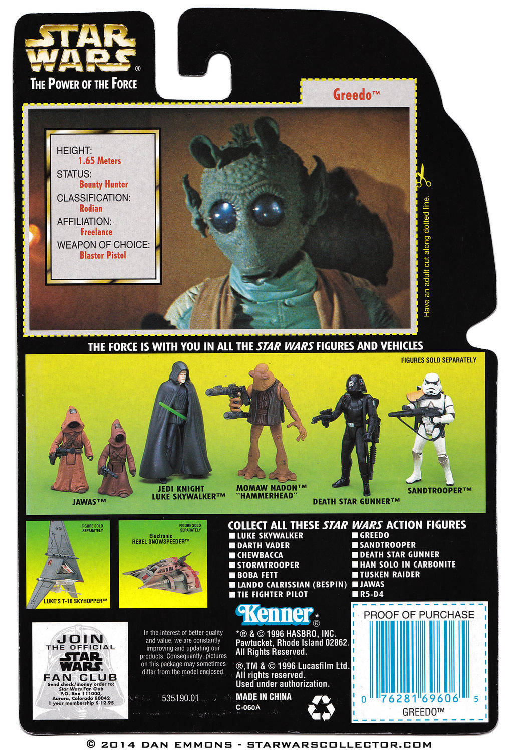 Greedo With Rodian Blaster Rifle Power Of The Force - 25 2 lego star wars minifigures han solo han in carbonite blaster