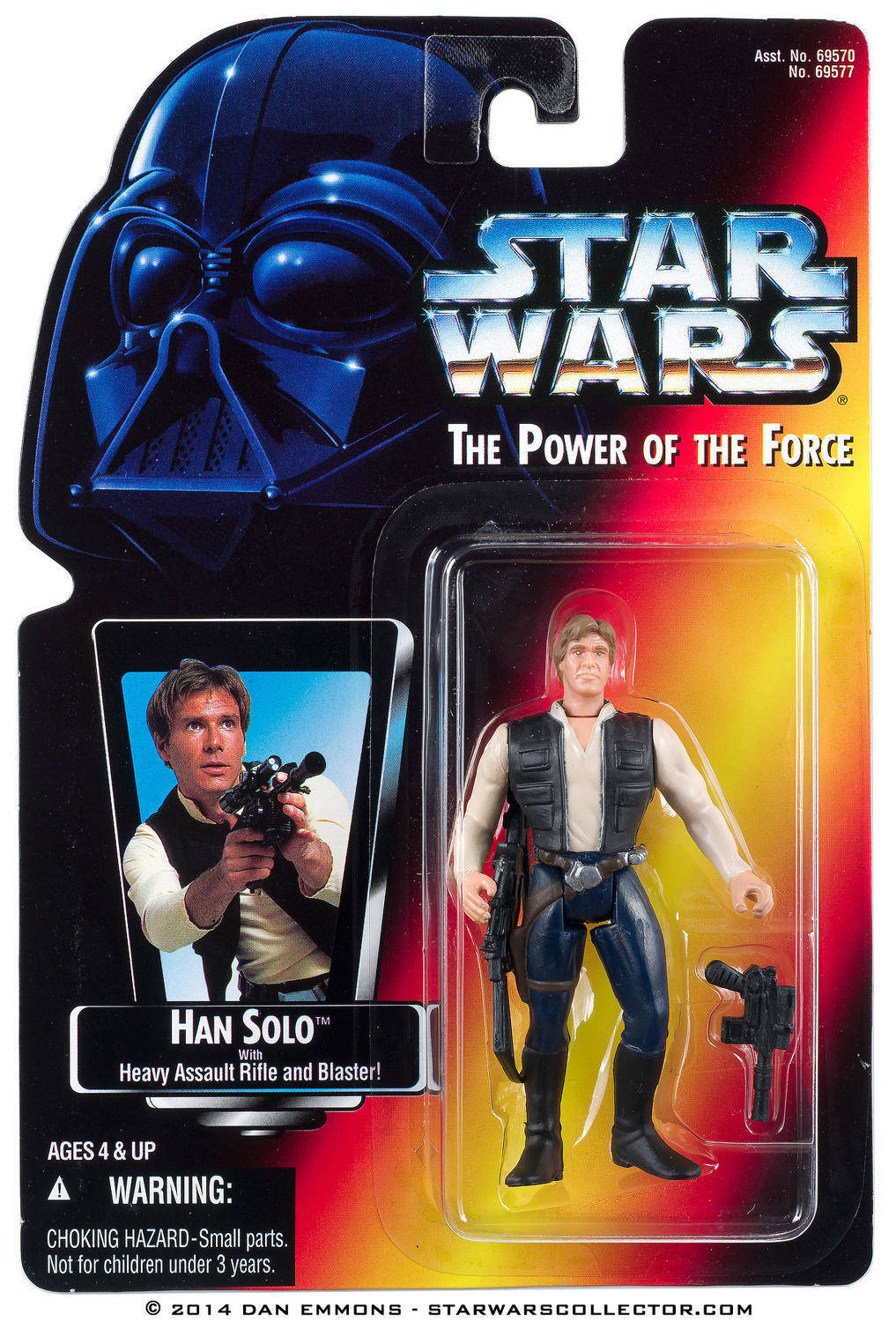 Power of the Force Freeze Frame Han Solo Action Figure Hasbro 69577 Star Wars
