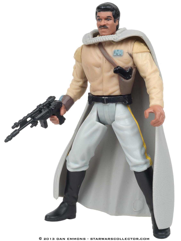 Star Wars Power of the Force Lando Calrissian in General/'s Gear figure New!