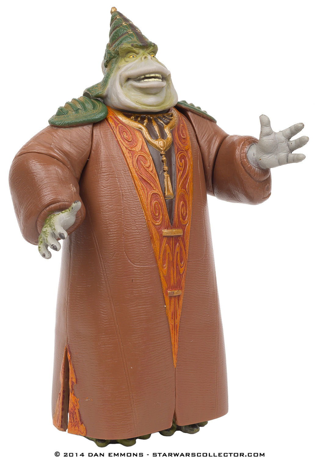 Boss Nass Gungan Sacred Place Power Of The Jedi Action