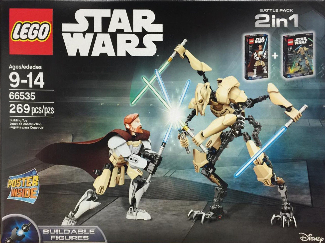 Battle Pack 2 In 1 Lego Star Wars Set 66535