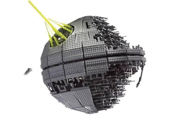 Death Star Ii Lego Star Wars Set 10143