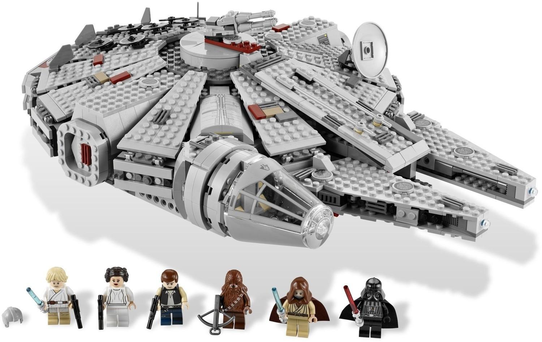 Lego Obi-Wan Kenobi 7965 Hood and Cape with Pupils Star Wars Minifigure