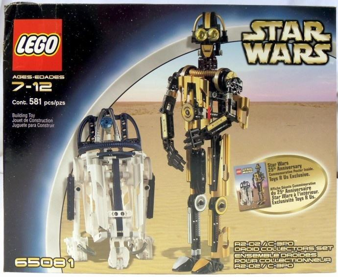 R2 D2 C 3po Droid Collectors Set Lego Star Wars 65081