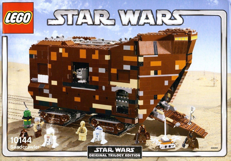 Sandcrawler Wars 10144 Lego Star deCBoWrx