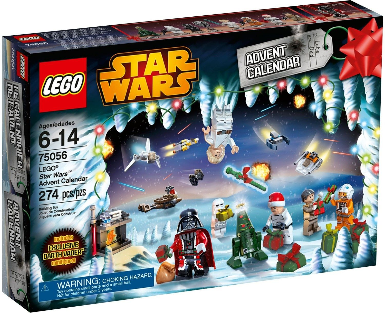 Calendrier Star Wars 2019.Star Wars 2014 Advent Calendar Lego Star Wars Set 75056