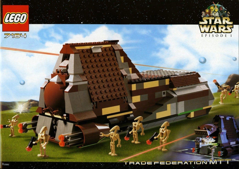 Trade Federation MTT - LEGO Star Wars set 7184