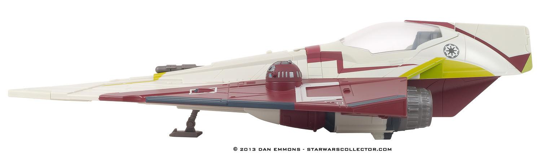 STAR WARS OBI-WAN /'S JEDI STARFIGHTER Vehicle objet A0880