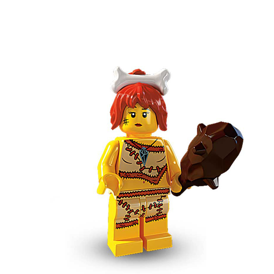 SEALED LEGO Series 5 Minifigure CAVE WOMAN 8805 Pebbles female minifig girl NEW