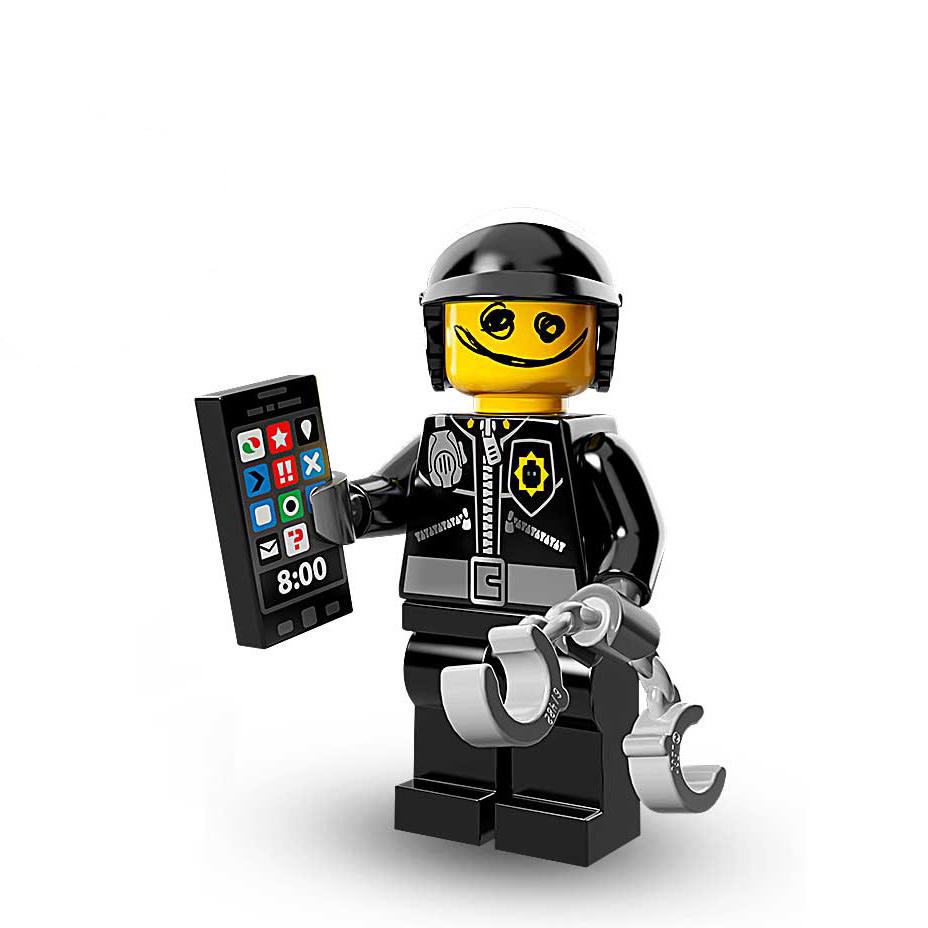 Bad Cop Lego Minifigures Lego Movie Set 71004