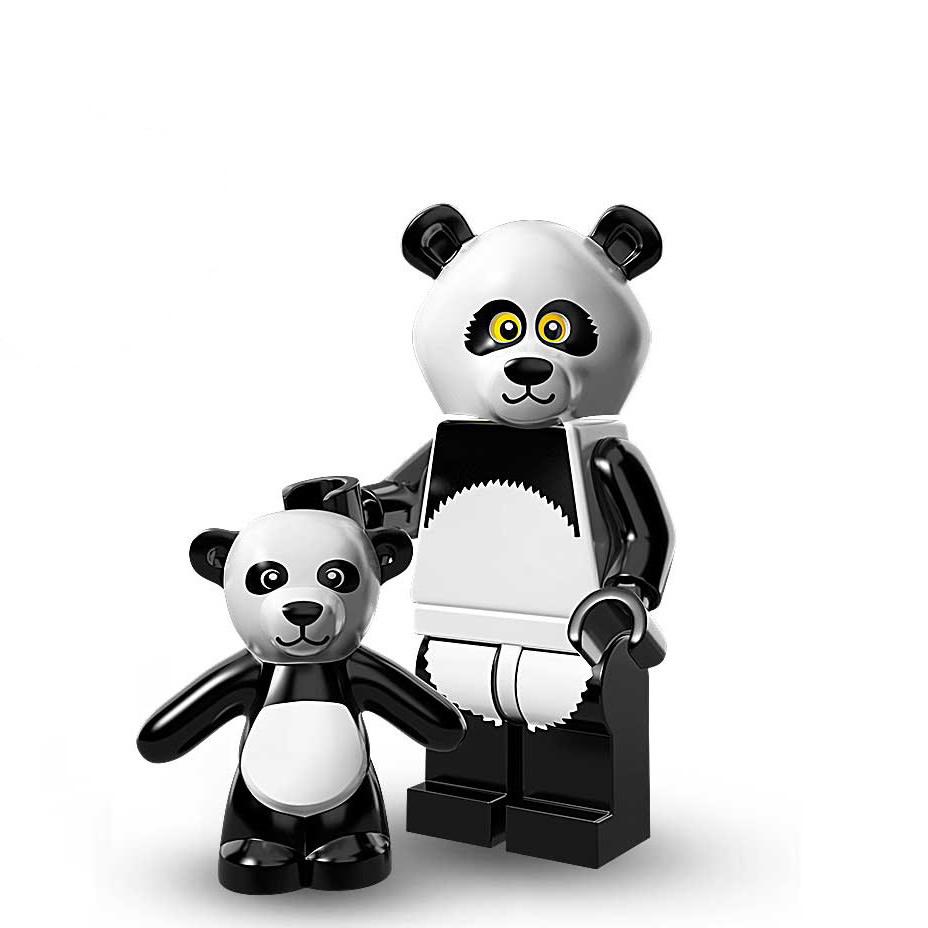 Panda Guy Lego Minifigures Lego Movie Set 71004