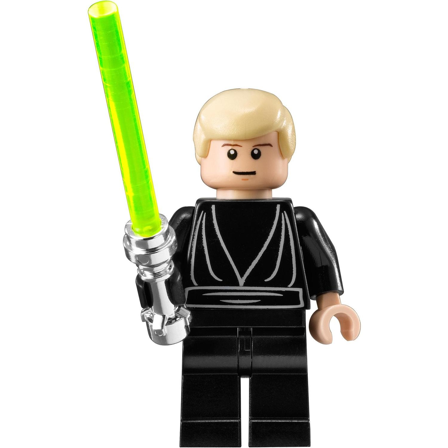 Luke skywalker jedi knightwith pupils minifigurines lego star wars