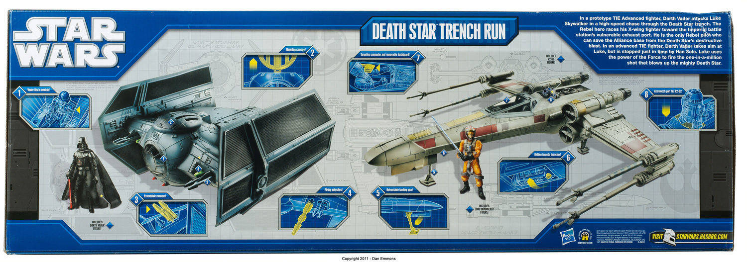 Death Star Trench Run - Shadows of the Dark Side action figure