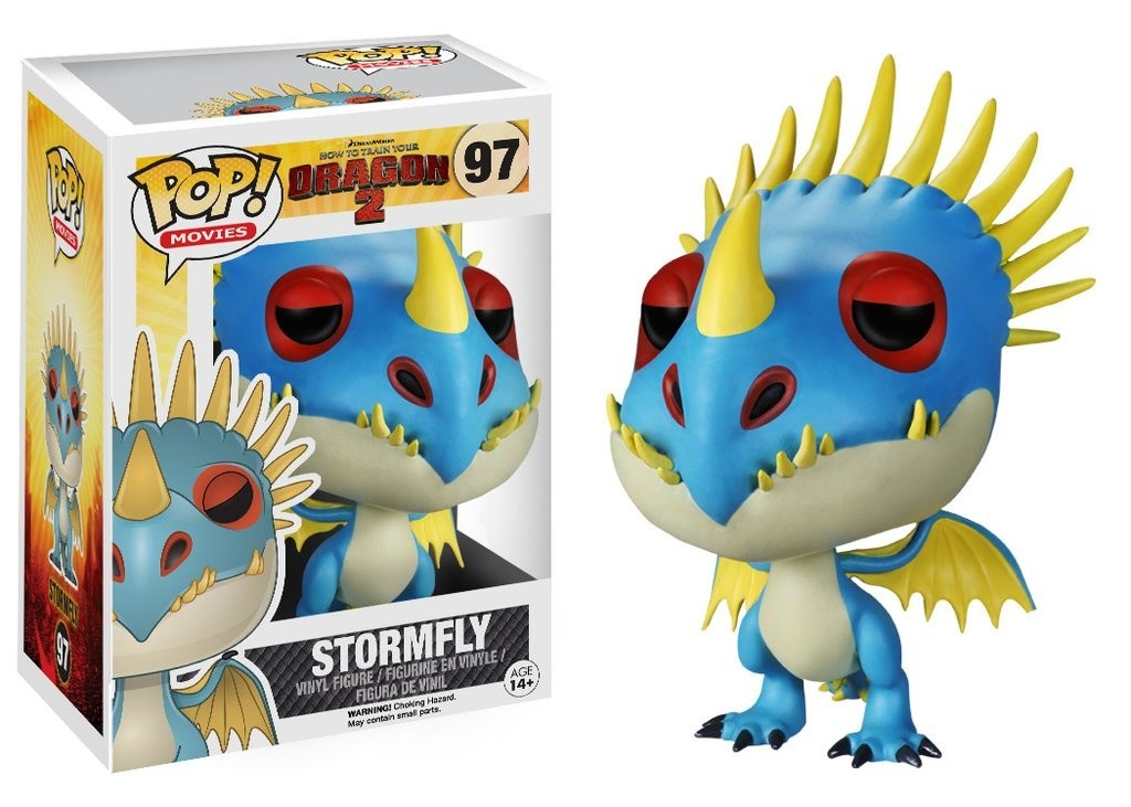 How To Train Your Dragon Stormfly Pop Movies Action Figure 97