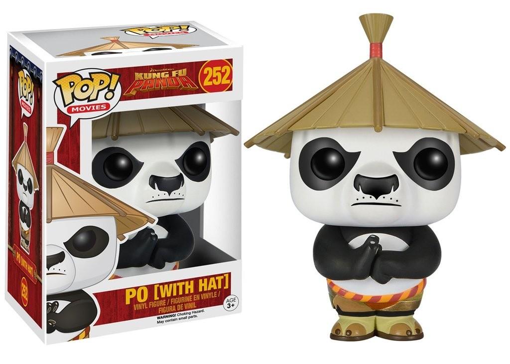 Kung Fu Panda Po With Hat Pop Movies 252
