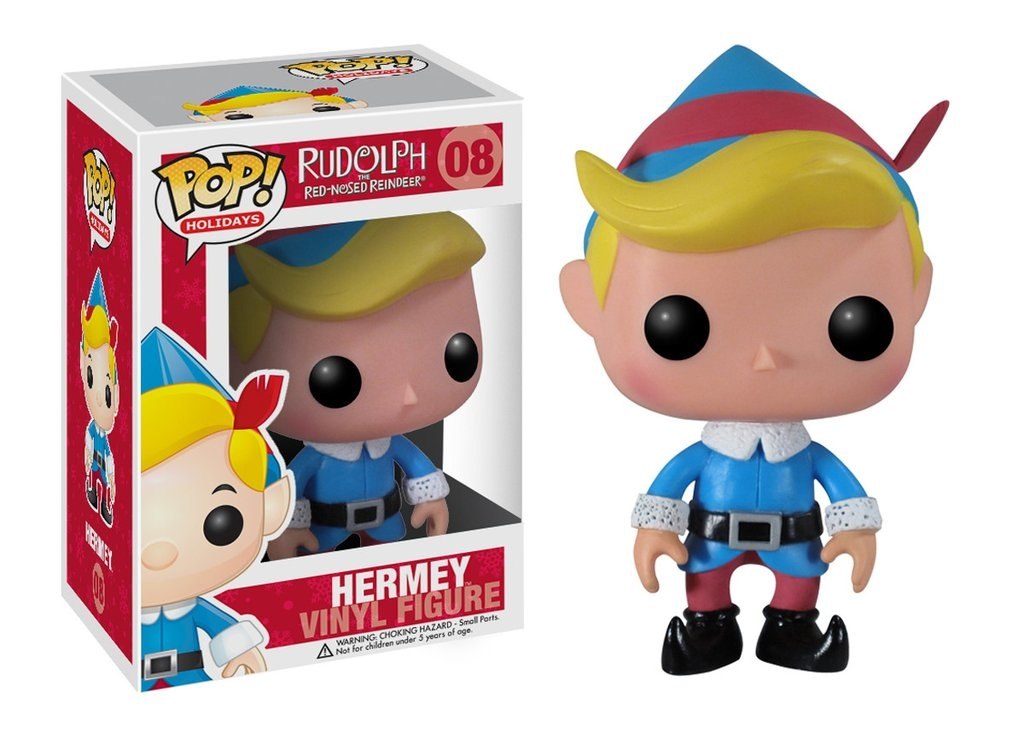 rudolph the red nosed reindeer hermey the elf pop holidays 008