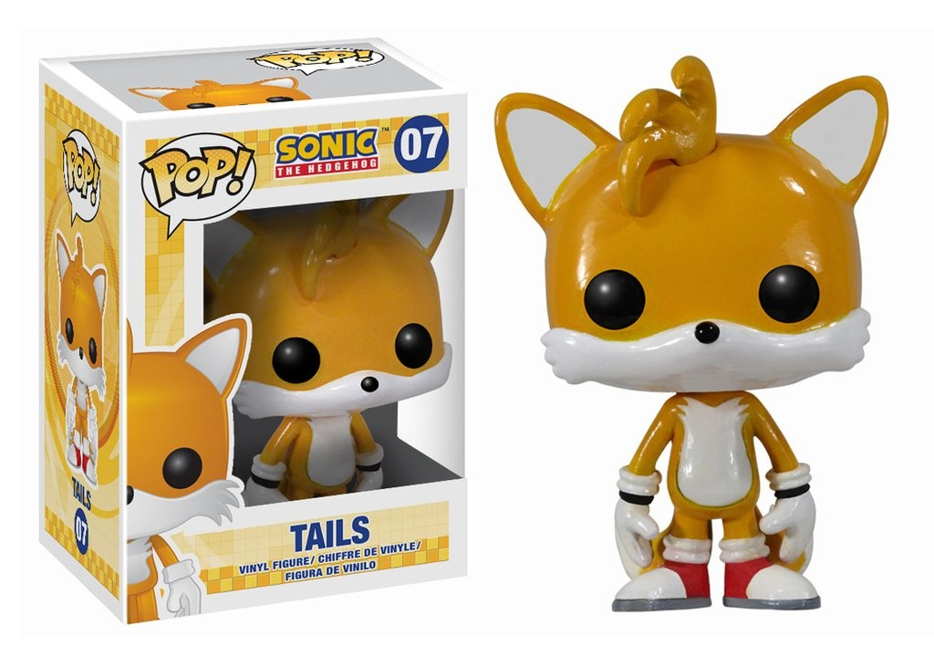 Sonic The Hedgehog Tails Pop Games Action Figure 7