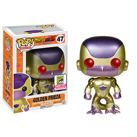 Dragonball Z Golden Frieza Red Eyes Pop Animation Action