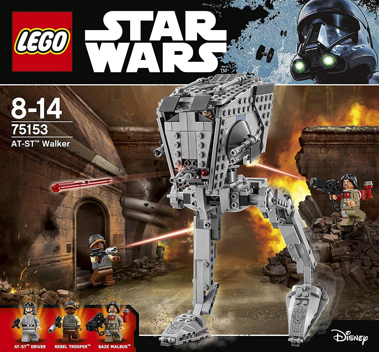 Lego Star 75153 St Walker Wars At TPuZiOkX
