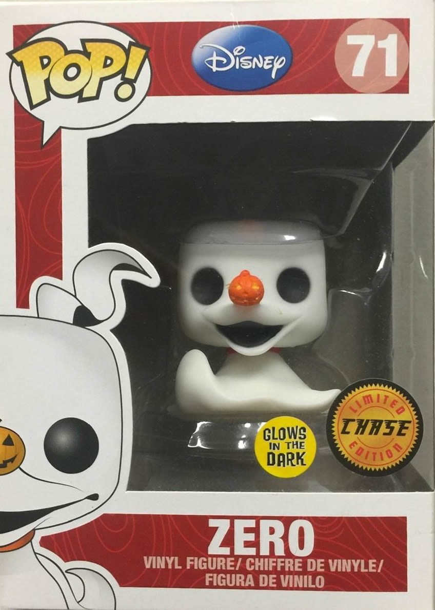 The Nightmare Before Christmas - Zero Glow In The Dark - POP! Disney ...
