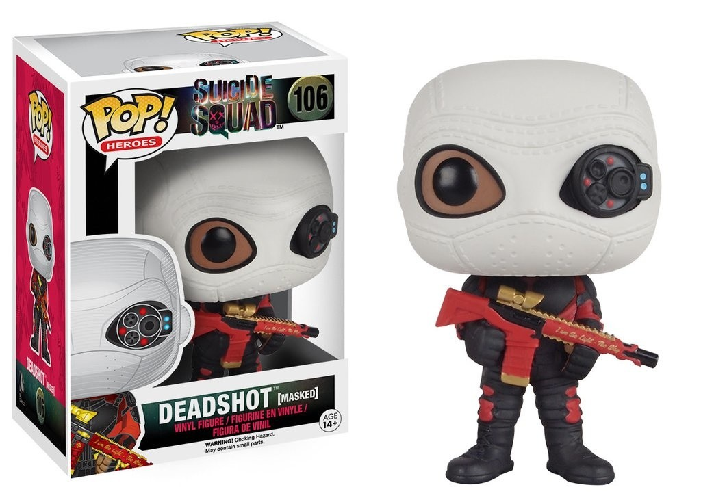 Suicide Squad Funko Mystery Minis Vinyl Figures Deadshot Mask