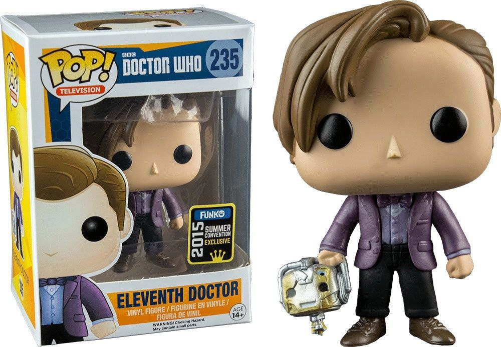 Twelfth Doctor with Spoon POP Funko Exclusive Doctor Who POP