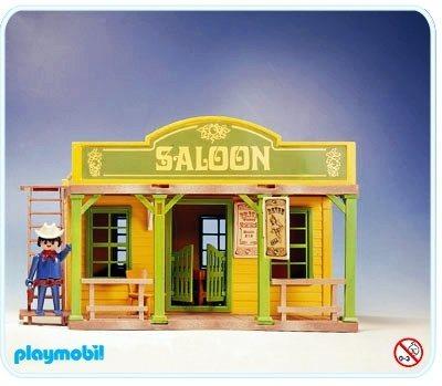 Playmobil Western 3425 Saloon Porte battante Vintage 1976