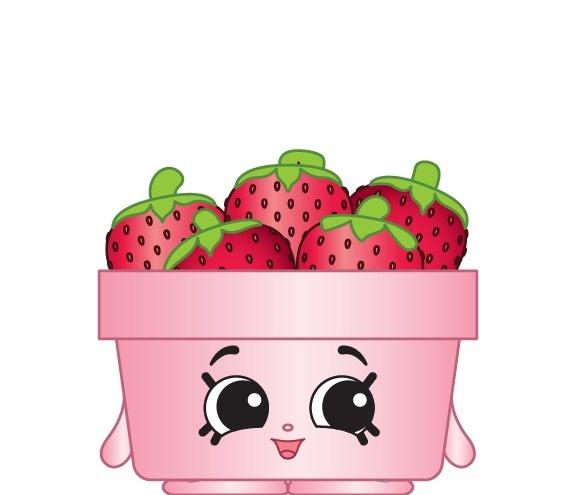 Strawberry Top Shopkins Season 6 Ref 005