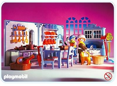 Kitchen Playmobil Victorian 5322
