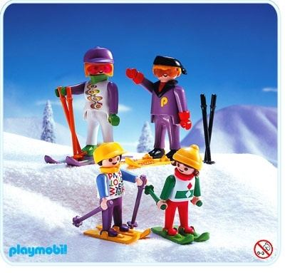 skiing family playmobil sets 3684 - Playmobil Ski