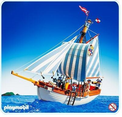 Schooner Ship - Pirate Playmobil 3740