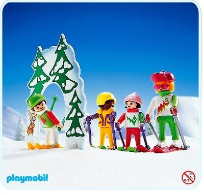 ski school playmobil playmobil sets ref 3687 1992