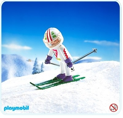 downhill skier playmobil playmobil sets ref 3682 1992