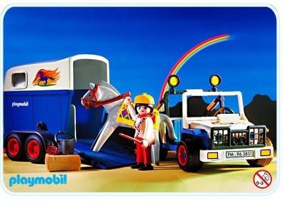 Horse Transport Playmobil Horse Riding 3851