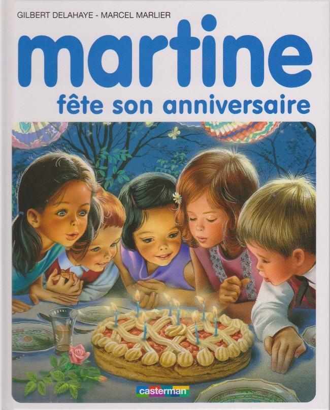 19 Martine Fete Son Anniversaire Livre Martine