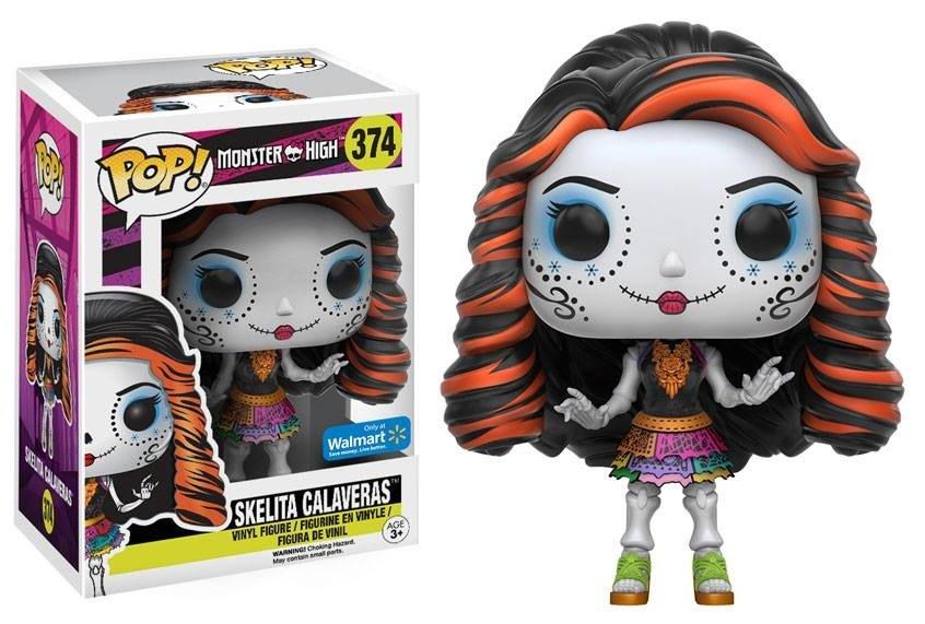 Monster High Skelita Calaveras Pop Movies Action Figure 374