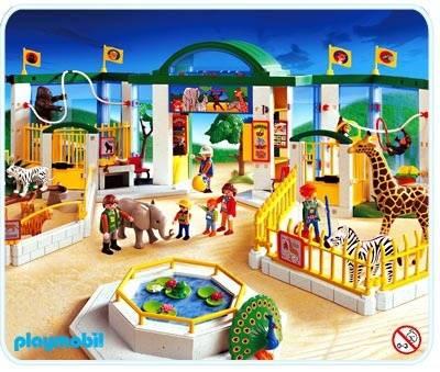 Playmobil zoo tiger orange park 3240 tawny 4061 cage o3122