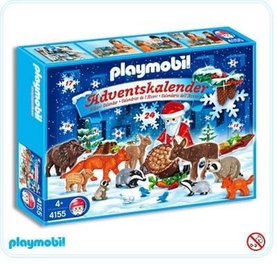Calendrier L Avent Playmobil.Calendrier De L Avent Noel En Foret Calendrier De L Avent