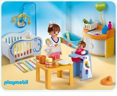 . Baby Room   Playmobil Houses and Furniture 4286
