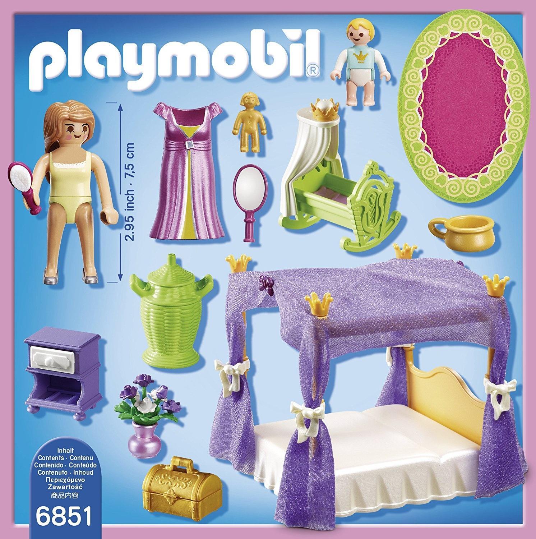 princess bedroom playmobil sets 6851 - Playmobil Chambres Princesses