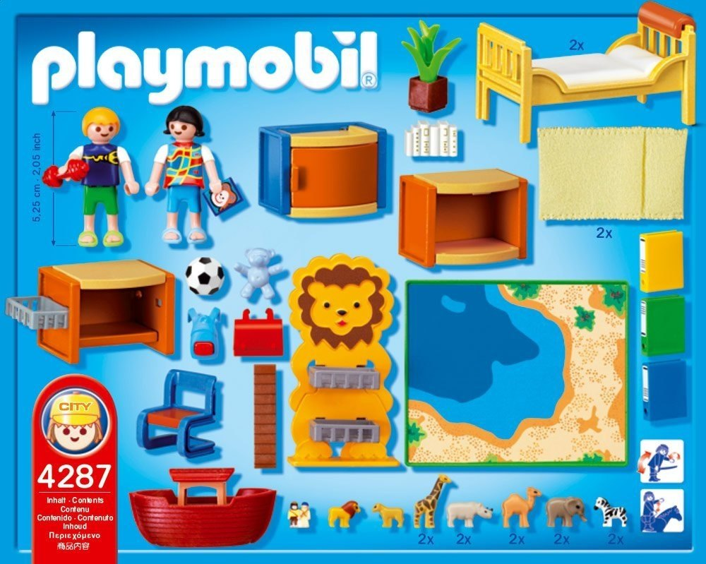 Playmobil chambre stunning superbe chambre bb playmobil for Playmobil kinderzimmer 4287