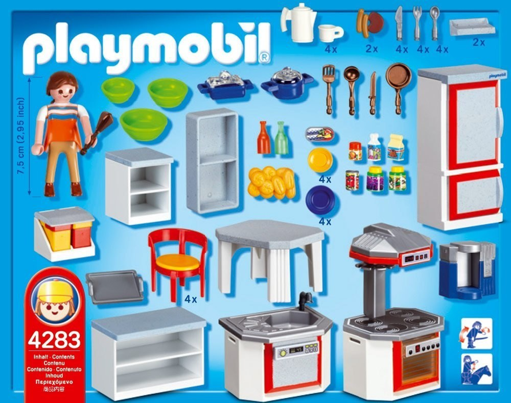 Luxury Playmobil Kitchen Motif - Modern Kitchen Set - dietmania.info