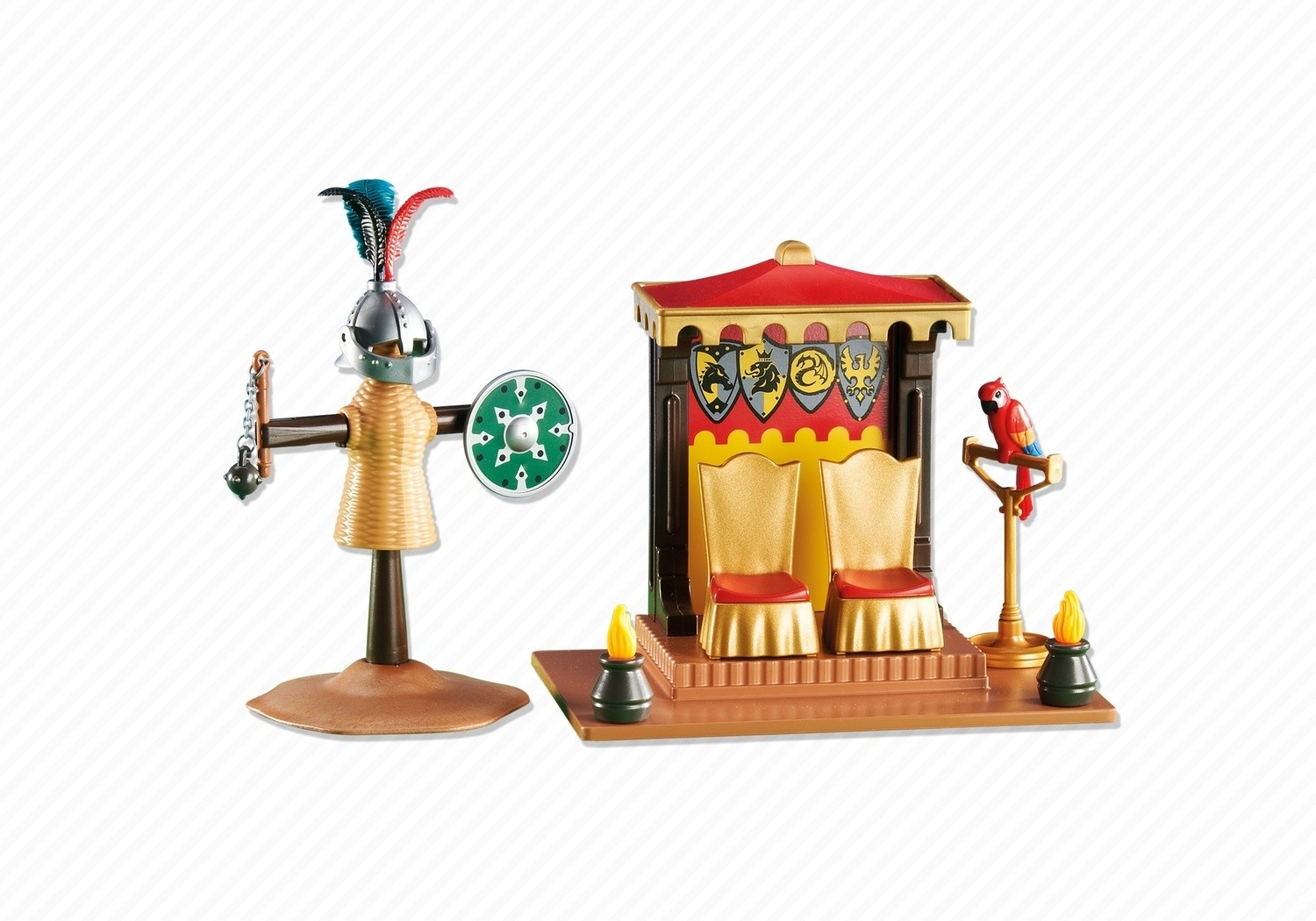 Kings Throne tournament - Playmobil sets 6375