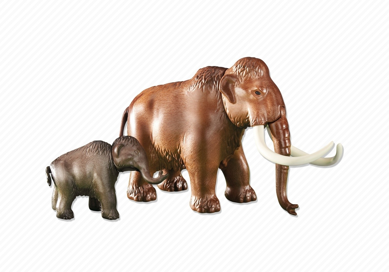 really cheap on wholesale online store Mammoth with calf - Playmobil Prehostoric 6366