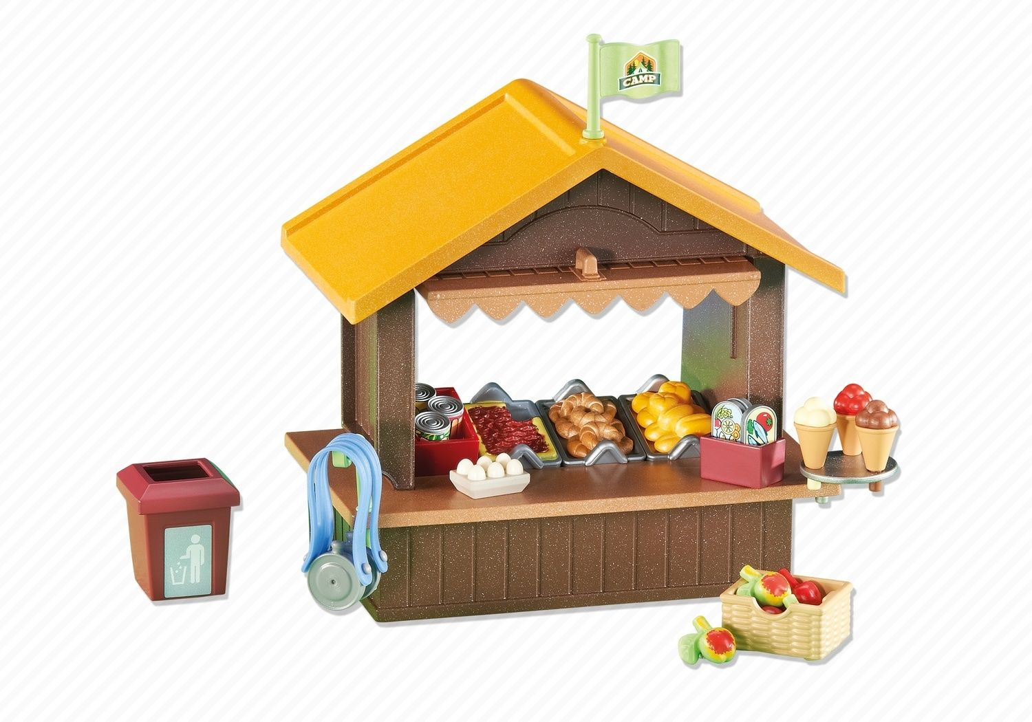 Summer Camp Kiosk Playmobil Accessories Decorations 6516