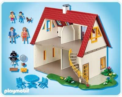 Villa Moderne Playmobil Maisons Et Intérieurs 4279