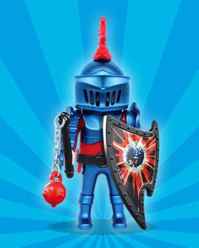 blue knight playmobil figures series 1 5203 - Playmobile Chevalier