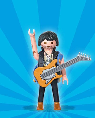 NEW Playmobil 5597 Series 8 Rock Star w//Guitar