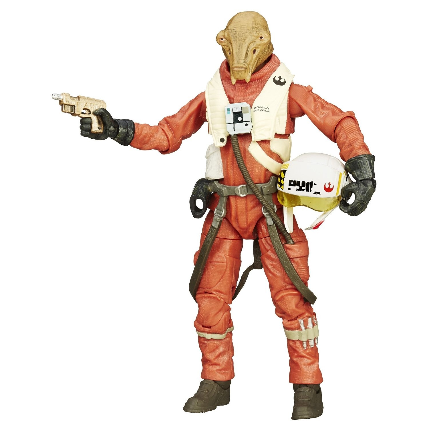Star Wars Force Awakens X-Wing Pilot Asty 3.75 Inch Action Figure